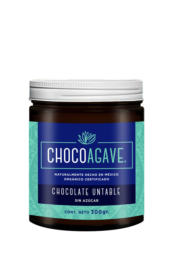 SPREADABLE CHOCOLATE Delicious and authentic spreadable chocolate carefully made with organic cacao and organic agave syrup.<br><br> 
