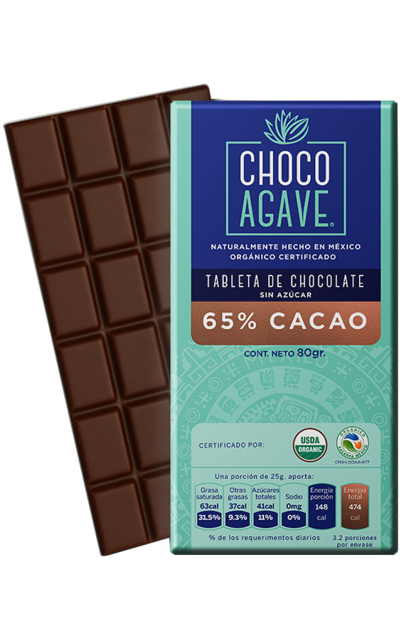 65% CACAO BAR Exquisite chocolate bar with <b>65% cacao</b>, carefully made with organic cacao, organic agave syrup.<br><br>